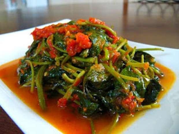 Resep Tumis Kangkung Udang, Menu Masakan Sederhana yang Digemari