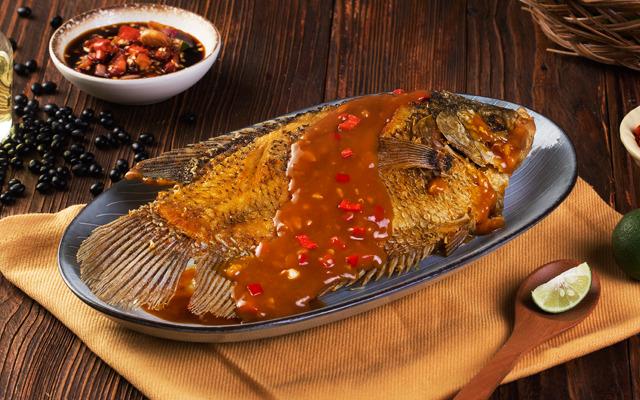 Thumbnail Ikan Gurami Goreng Siram Tauco