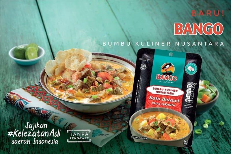 Thumbnail Soto Betawi Khas Jakarta dengan Bango Bumbu Kuliner Nusantara