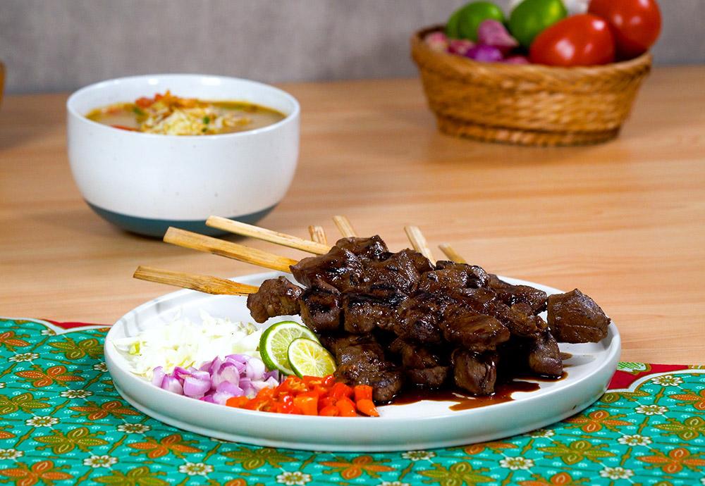 Thumbnail Resep Sate Kambing Kuah Tongseng Khas Solo
